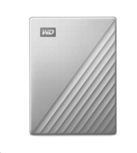 """WD My Passport ULTRA 2TB Ext. 2.5"""" USB3.0 Silver USB-C"""