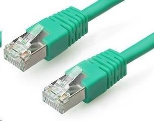 GEMBIRD Patch kabel CAT6 stíněný FTP 2m, zelený