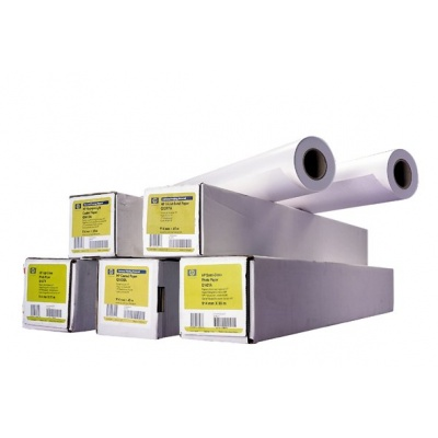 HP Coated Paper-1372 mm x 45.7 m (54 in x 150 ft), 24 lb, 90 g/m2, C6568B