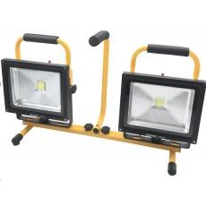 Extol Light (43283) reflektor LED, 2x2400lm, se stojanem 168cm
