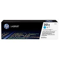 HP 201X High Capacity Cyan LJ Toner Cartridge, CF401X