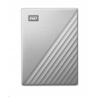 "WD My Passport ULTRA 4TB Ext. 2.5"" USB3.0 Silver USB-C"