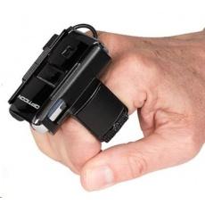 Opticon RS-2006, ring scanner, 1D čtečka čárových kódů na dva prsty, wearable, datakolektor, BT, laser.