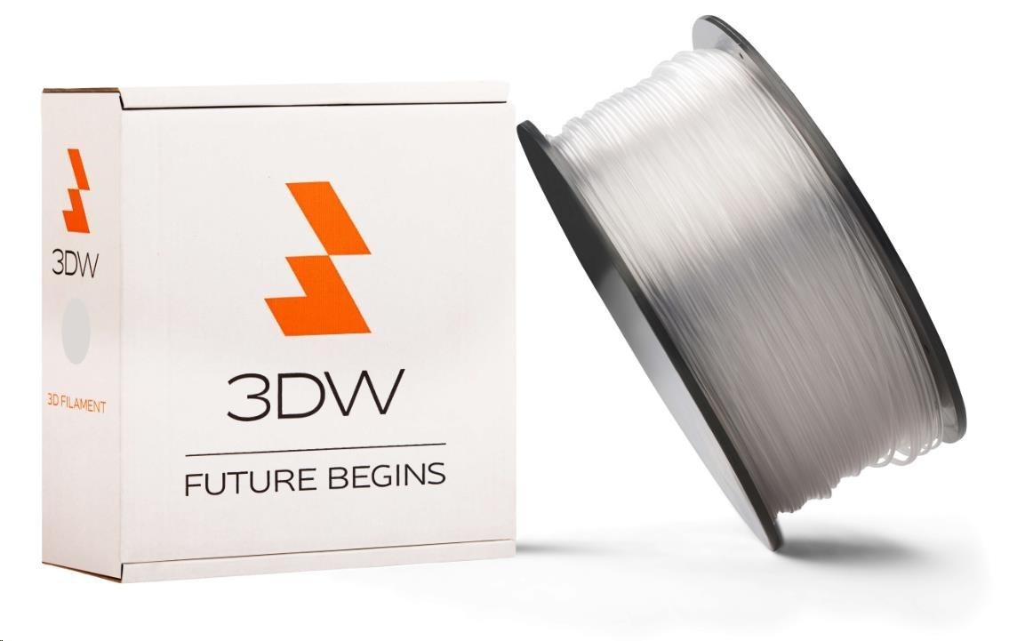 ABS 3DW ARMOR filament, průměr 2,9mm, 1Kg, Transparentní