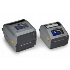 Zebra ZD621t, 12 dots/mm (300 dpi), disp., RTC, USB, USB Host, RS232, BT (BLE), Ethernet, grey