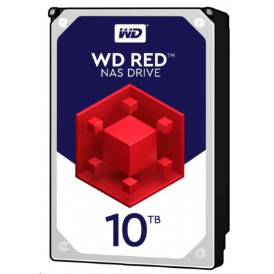 WD RED NAS WD100EFAX 10TB SATAIII/600 256MB cache, 210MB/s