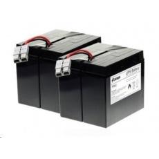 Baterie - FUKAWA FWU-55 náhradní set baterií za RBC55 (12V/18Ah, 4ks)