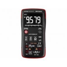 Extol Premium 8831251 multimetr digitální, inverzní displej, True RMS, automatická volba rozsahů