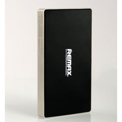 REMAX PowerBank SUPERALLOY 6000 mAh , polymerové baterie , 2,1A výstup, barva stříbrnočerná