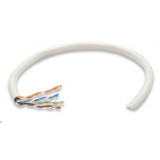 Intellinet UTP kabel, Cat6, drát 305m, 23AWG, šedý
