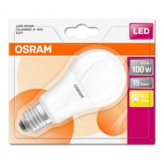 OSRAM LED STAR CL A Fros. 13W 827 E27 1521lm 2700K (CRI 80) 15000h A+ (Krabička 1ks)