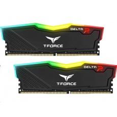 DIMM DDR4 32GB 3000MHz, CL16, (KIT 2x16GB), T-FORCE DELTA RGB (Black)