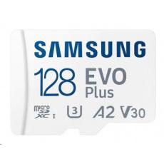 Samsung micro SDXC karta 128GB EVO Plus + SD adaptér