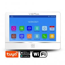 VERIA 8277B-W (Wi-Fi) série 2-WIRE LCD monitor videotelefonu bílý
