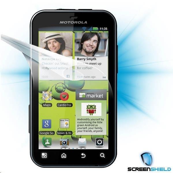 ScreenShield fólie na displej pro Motorola Defy+