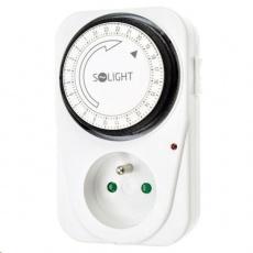 Solight časový spínač, 24 h., 1 režim