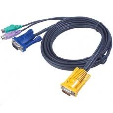 ATEN KVM sdružený kabel k CS-12xx, PS/2, 3m