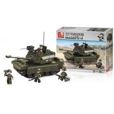 Sluban B-6500 Tank 312 dílků
