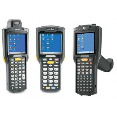 Motorola/Zebra Terminál MC3200WLAN, BT, GUN, 2D, 28 key, 2X, Windows CE7, 512/2G, prohlížeč