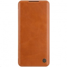Nillkin Qin Leather Case pro Xiaomi Mi Note 10 / 10 Pro (Brown)