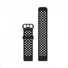 Fitbit Charge 3 Accessory Sport Band Black Large