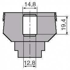 Tango - Modul pro 1x keystone 5014A-B1017
