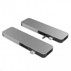 HyperDrive SOLO USB-C Hub pro MacBook & ostatní USB-C zařízení - Space Gray