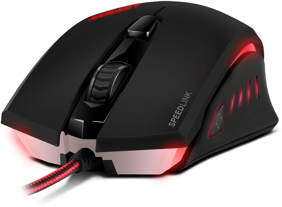 SPEED LINK myš SL-6393-BK LEDOS Gaming Mouse, black