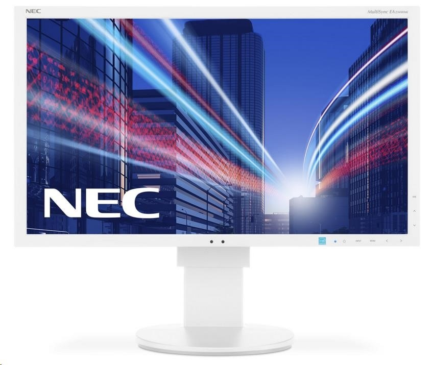 "NEC MT 23"" LCD MuSy EA234WMi White W IPS LED,1920x1080/60Hz,6ms,1000:1,250cd,DP+DVI+HDMI+VGA,audio,USB (1+4)"