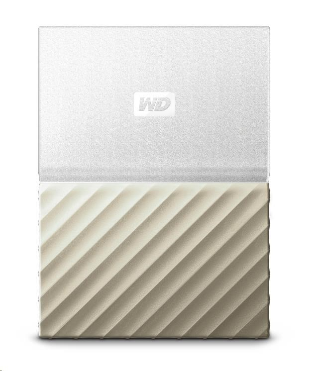 "WD My Passport ULTRA 3TB Ext. 2.5"" USB3.0 White/Gold"