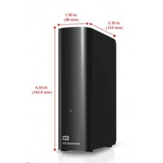 "WD Elements Desktop 4TB Ext. 3.5"" USB3.0, Black"